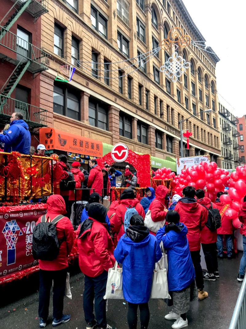 Mott Street, Chinese New Year