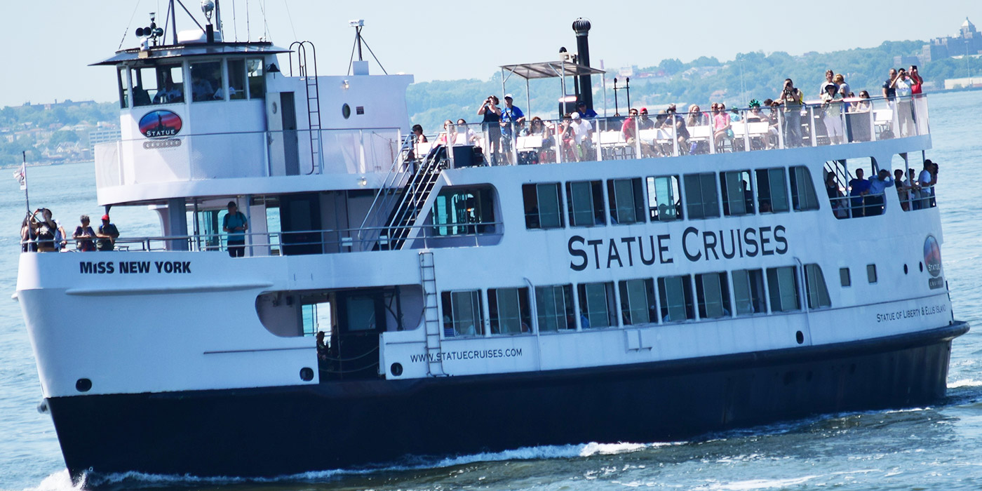 guided city tour with statue of liberty ferry, new york sightseeing